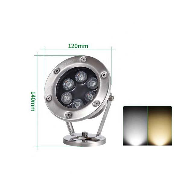Đèn âm nước đổi màu 3W - Hình 3