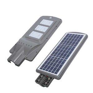 Đèn đường Led 60w tích hợp năng lượng mặt trời - Hình 1