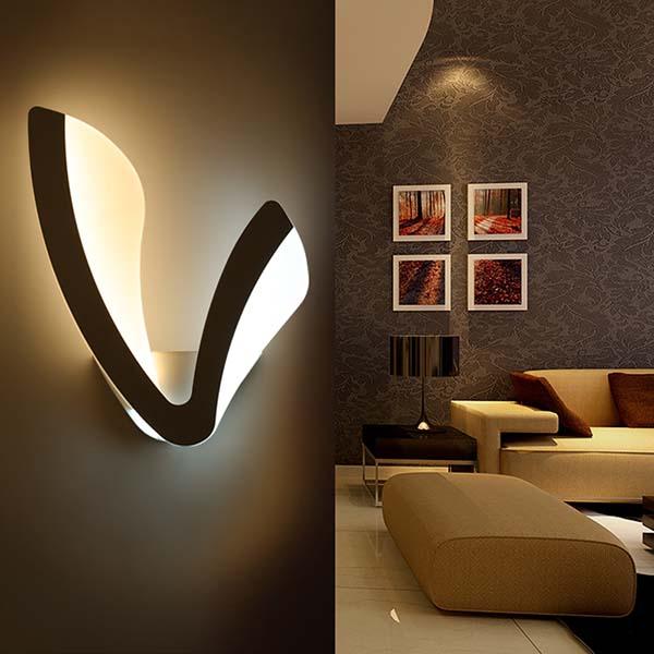 Đèn gắn tường 12W - VN - B075 to - Hình ảnh 1