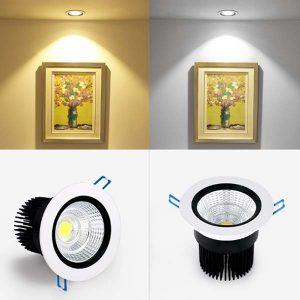 Đèn âm trần COB 5W - Hình ảnh 2