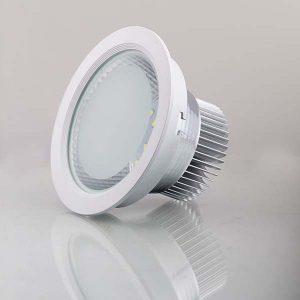 Đèn âm trần 7W mặt kính - Hình ảnh 1