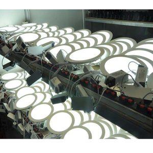 Đèn âm trần 4W mỏng tròn - Hình 2