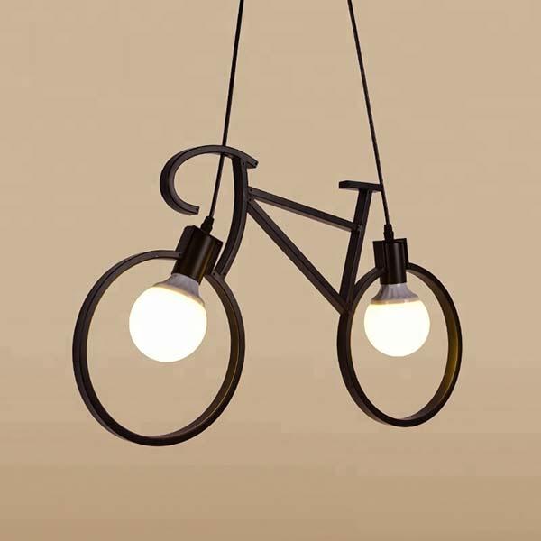 Đèn thả hình kim xe đạp - VN - THXD - Hình ảnh 1