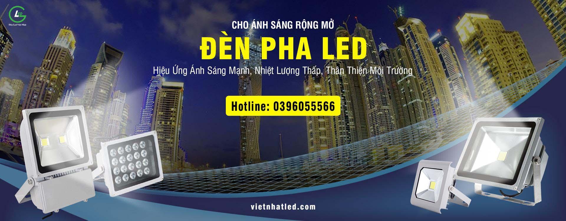 Đèn Led Việt Nhật - Banner 3