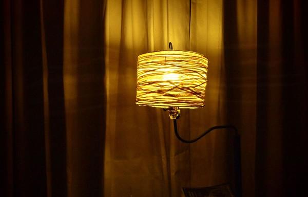 Cách làm đèn ngủ từ dây thừng