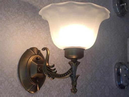 Hình ảnh mẫu đèn ngủ treo tường hình lồng đèn