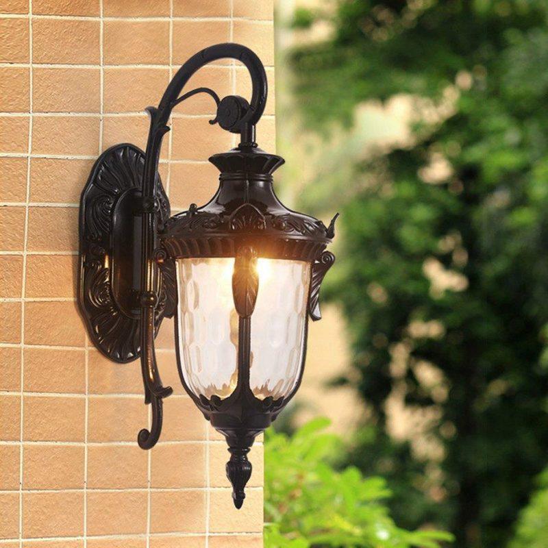 Mẫu đèn treo tường phong cách cổ điển 2