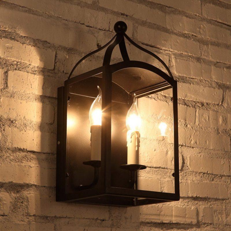 Mẫu đèn treo tường phong cách cổ điển 3