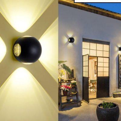 Mẫu đèn treo tường phong cách hiện đại 2