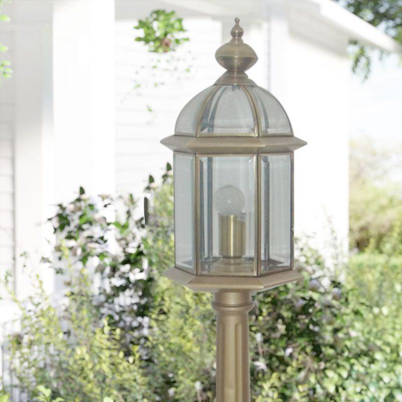 Mẫu đèn trụ sân vườn 2