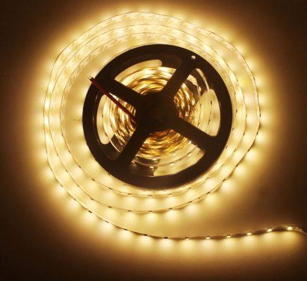 Hình ảnh mẫu đèn led dây hắt ánh sáng trang trí cây