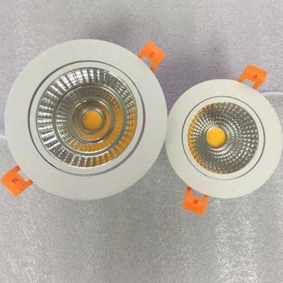 Mẫu đèn âm trần thiết kế hiện đại